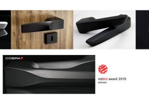 Red Dot design award 2019 získaly kliky Cobra. A hned třikrát!