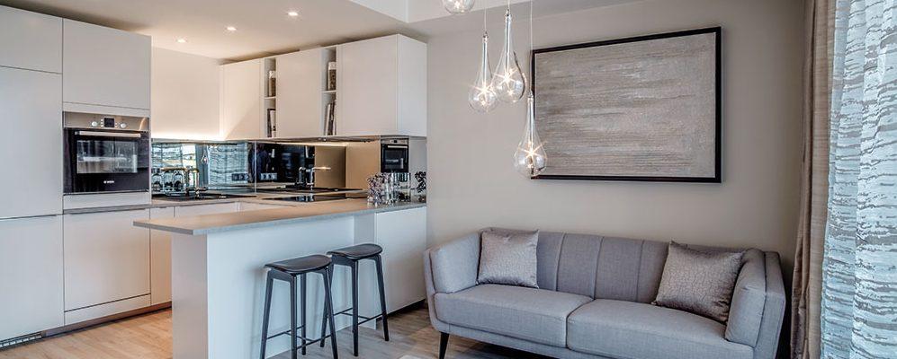 Malý velký byt: Maximálně využitý prostor a světlé barvy