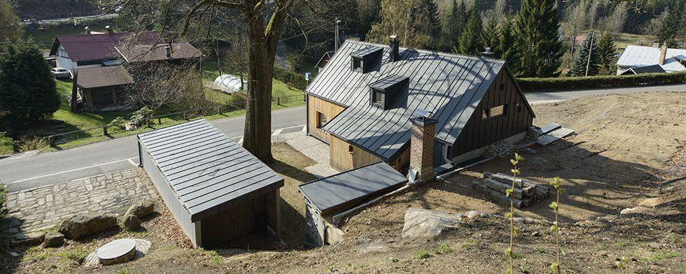 Při rekonstrukci tradiční chalupy se podařilo zachovat duši původního domu