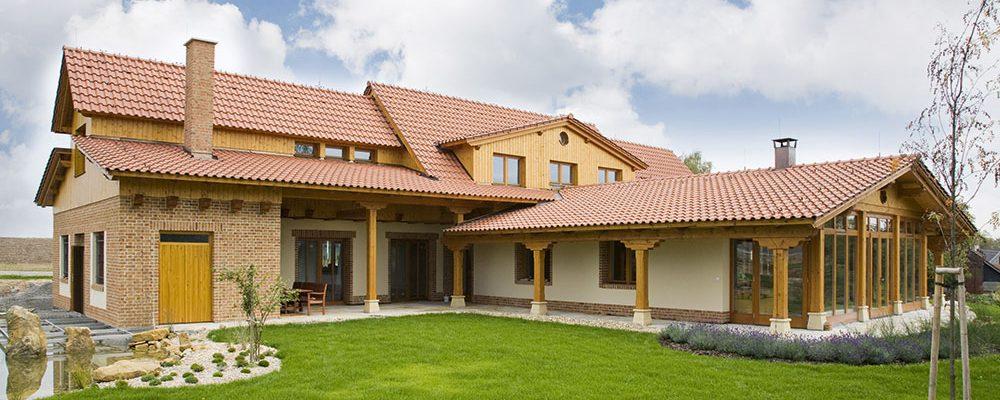 Ideální střecha moderního rodinného domu
