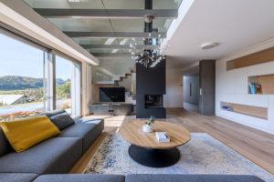 Precizně vypracovaný dům, v němž má každý detail svůj význam