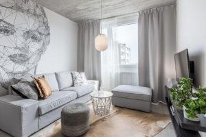 obývací pokoj,