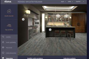Virtuální showroom podlahovin Fatra