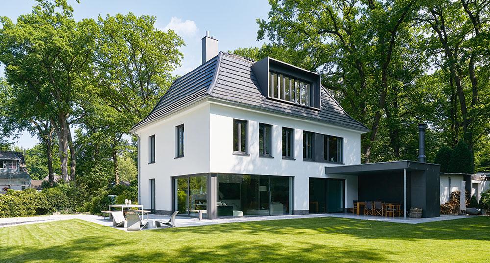 Renovace rodinné vily s holistickým přístupem