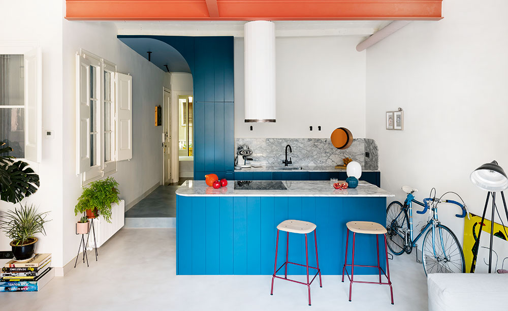 Moderní podoba starého bytu, který si postupně zamilujete