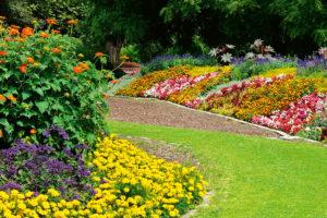Jasné meze pro trávník i záhony