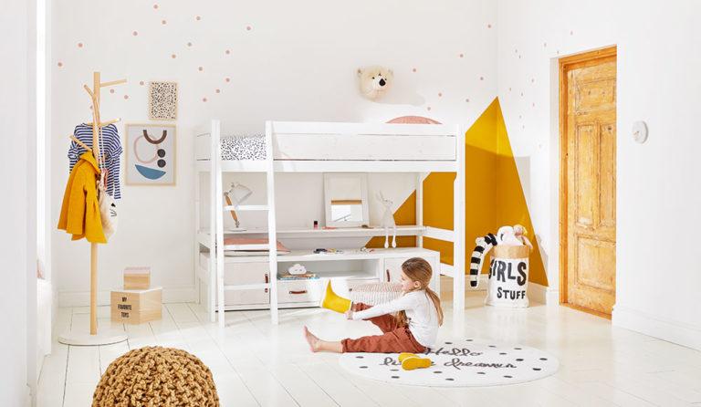 Dětský pokoj v style lagom