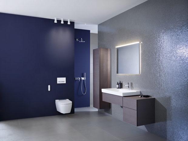 mužská koupelna