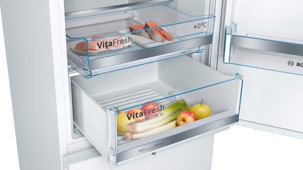 přihrádka v lednici