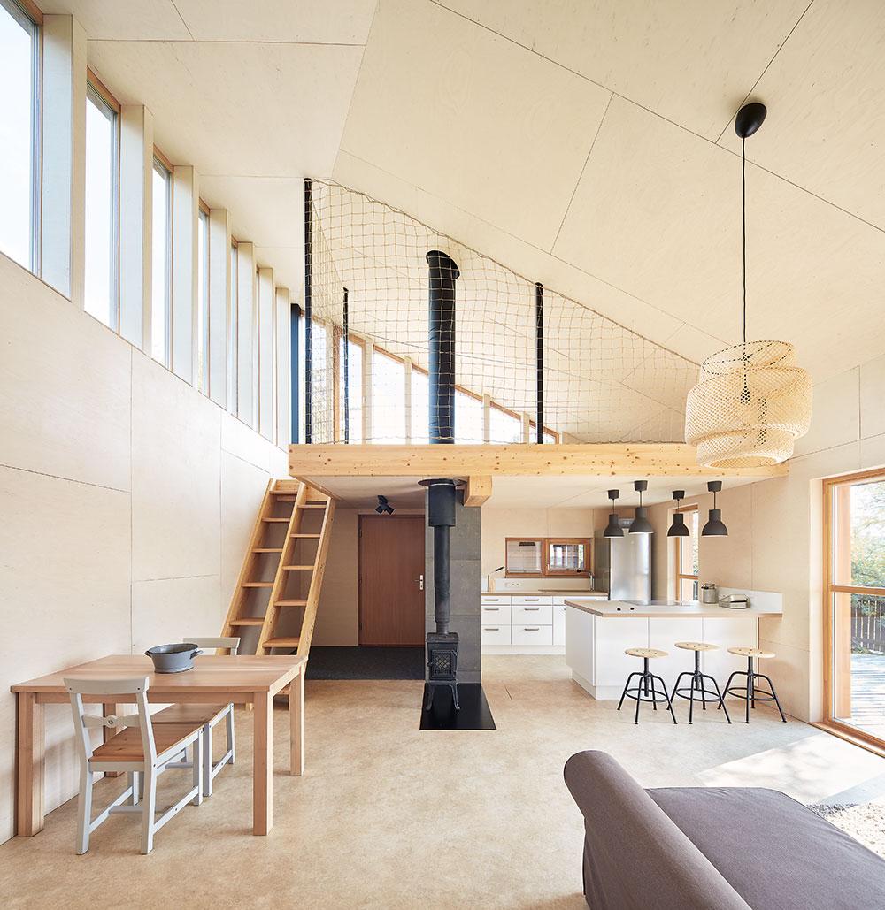 Otevřený denní prostor domu