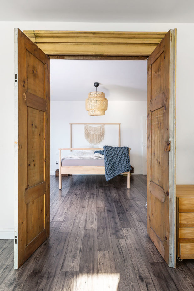 Vchod od ložnice