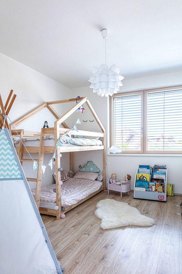 minimalisticky dětský pokoj minimalisticky
