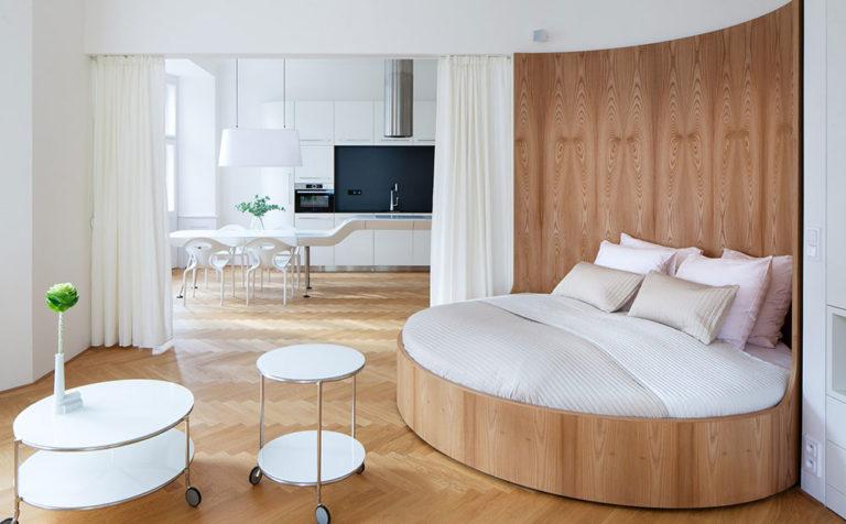 Rafinované řešení interiéru, jaké byste v bytě rozhodně nečekali