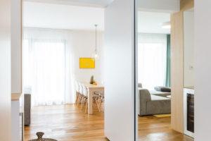 vstupní části bytu