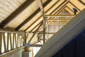 podkroví stodoly