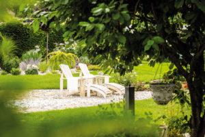 Zahradní sezení