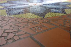 mozaika kvet
