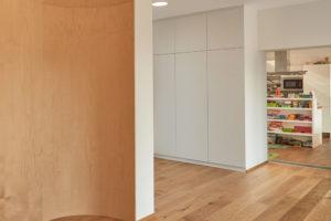 Dřevěné zaoblené stěny
