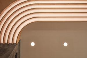 lamelové snížení stropu