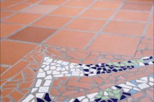 mozaika na podlaze