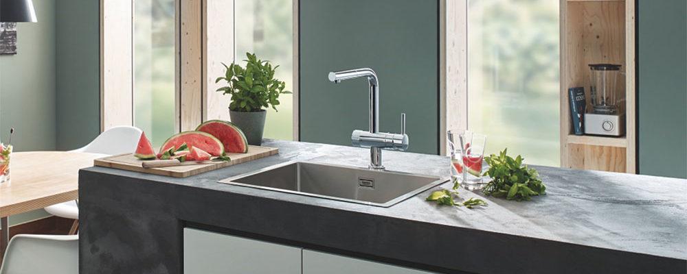 Pro bezpečnou a skvěle chutnající vodu kdekoliv na světě – přímo z kohoutku