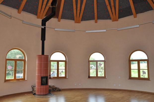 Hliněné omítky v interieru