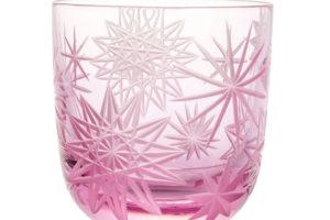 Ručně broušená křišťálová sklenice