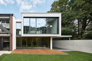 Soukromý dům v německém Gersthofenu ve stylu Miese van der Rohe
