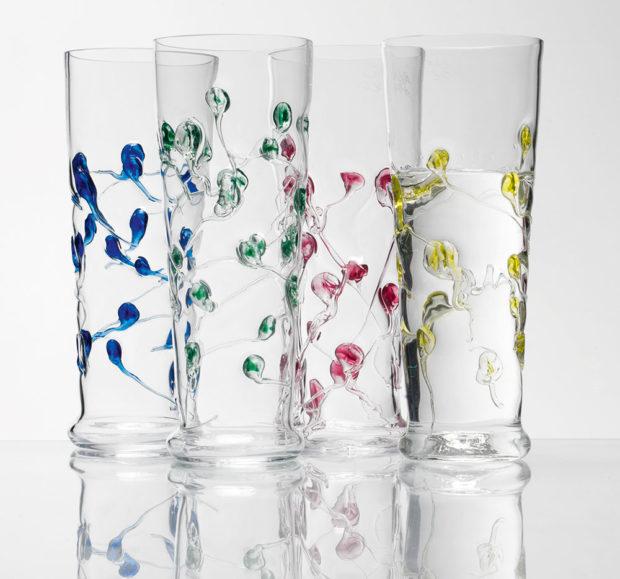Ručně foukaná sklenice