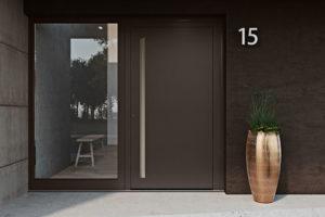 Zažijte jedinečné barevné harmonie s vchodovými dveřmi heroal Les Couleurs® Le Corbusier
