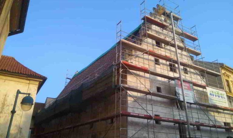 Rekonstrukce historického klenotu Českých Budějovic