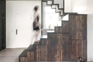 ukládací prostor pod schody