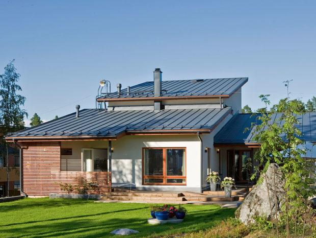 Plechové střechy
