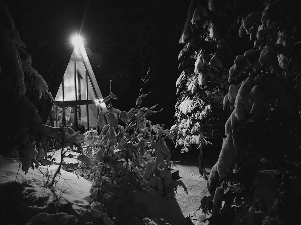 chAta v zime Foto: Pavol Štofan