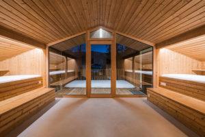 horská chata interiér