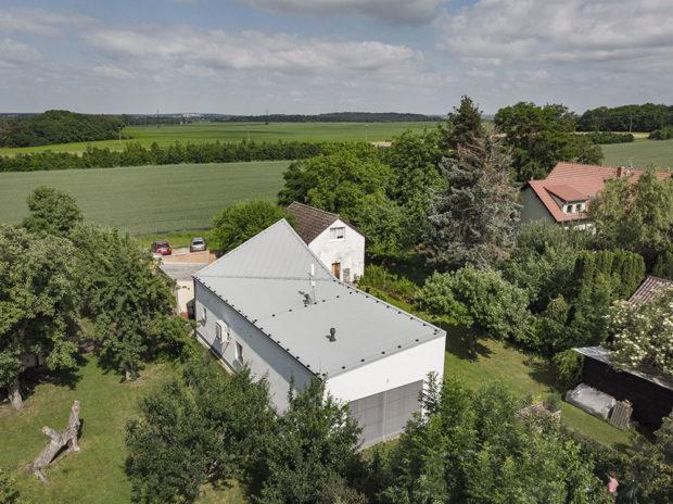 Rodinný dům na úzkém pozemku