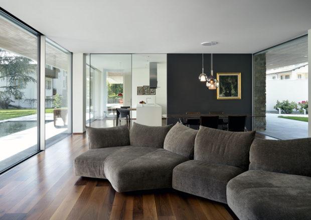 obývací prostor domu