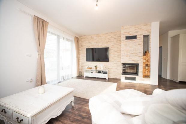obývací čásťt domu