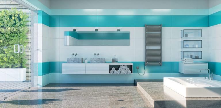 Koupelnové žebříky z jiného úhlu, pro novostavby i rekonstrukce