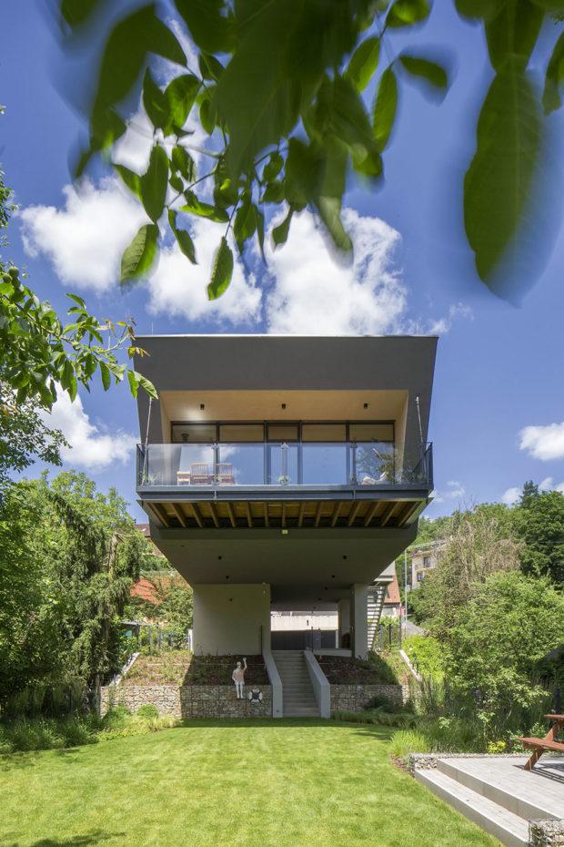 Nízkoenergetický dům u Dunaj