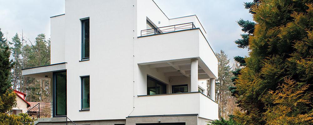 Jak na obnovu fasády