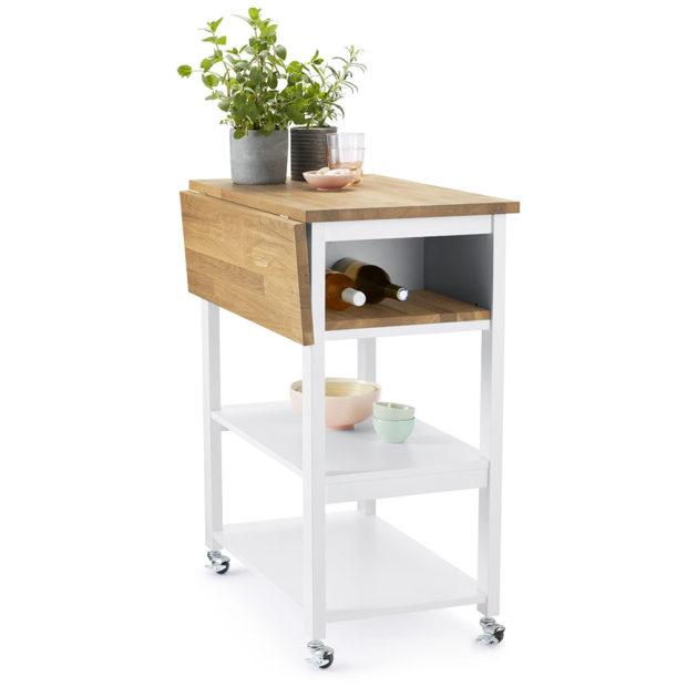 Kuchyňský přípravný aservírovací vozík