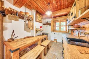 zarízení domku ze dreva