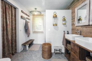 koupelna v chalupe