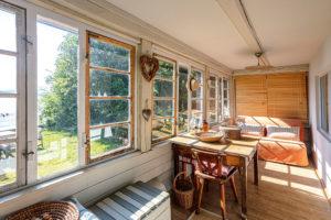 prosklená veranda