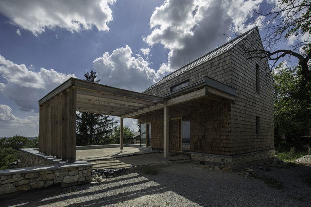 Vinohradnický dům na Zoboru s terasou