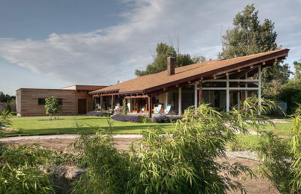Nádherné bydlení v nízkoenergetické dřevostavbě