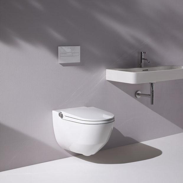 Toalety s bidetovou sprškou