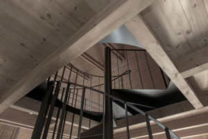 točité schodište