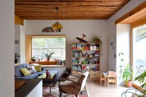 obývací část domu